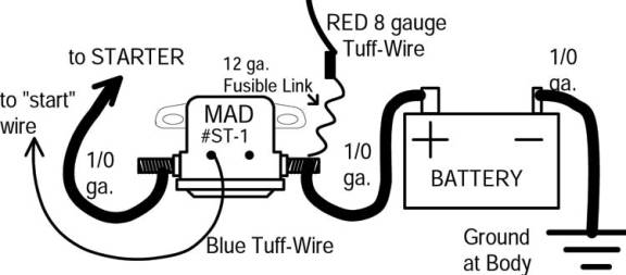 catalog alternator wiring diagram rear shut off three wire 3 wire alternator wiring diagram m.a.d. electrical