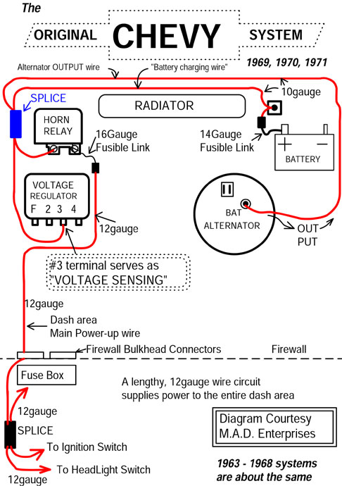chevym1 catalog Delco Alternator Wiring Diagram at gsmx.co