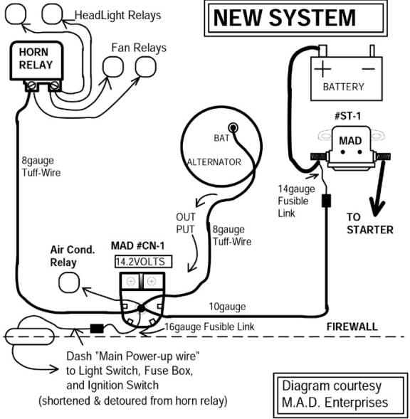 781081 Charging System Upgrade Need Some Help on 65 falcon wiring diagram