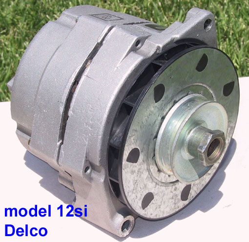 catalog the photo above shows a delco remy built model 12si alternator