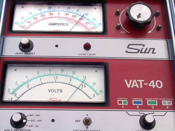 Sun Battery Tester : Catalog