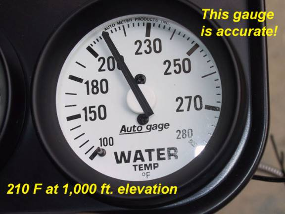 With Mechanical Gauges The Test May Be Slightly Easier To Perform Before Installing A New Water Temp Gauge But Can Also Done If Is